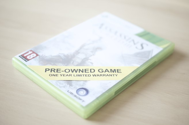 Used Games And Gameshops - Pre-Owned Game