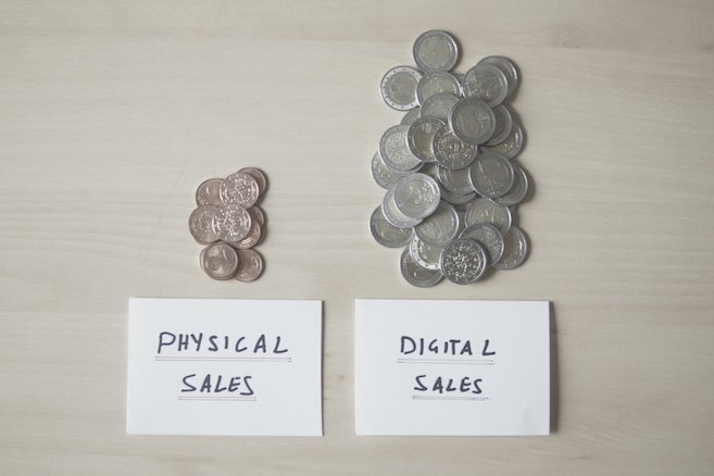 Playstation 4, Xbox One And Some Dirty Little Secrets - Physical Sales vs Digital Sales
