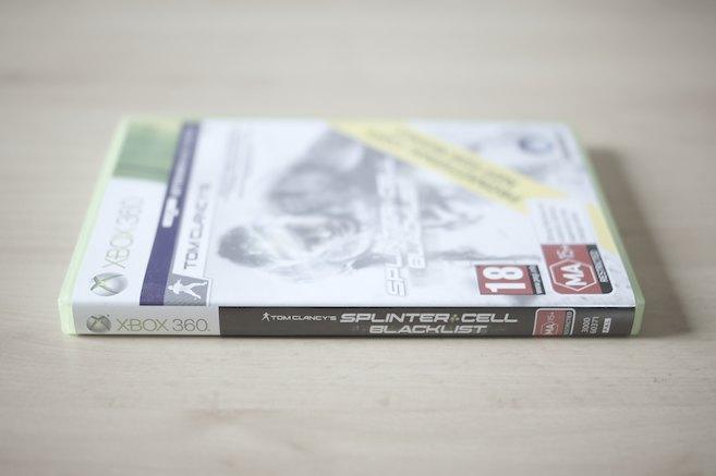 Splinter Cell Blacklist - Xbox 360 Cover