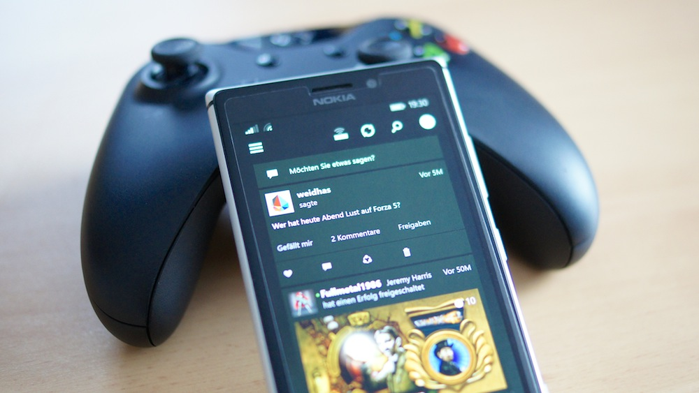Social Gaming Networks - Xbox One Smartglass