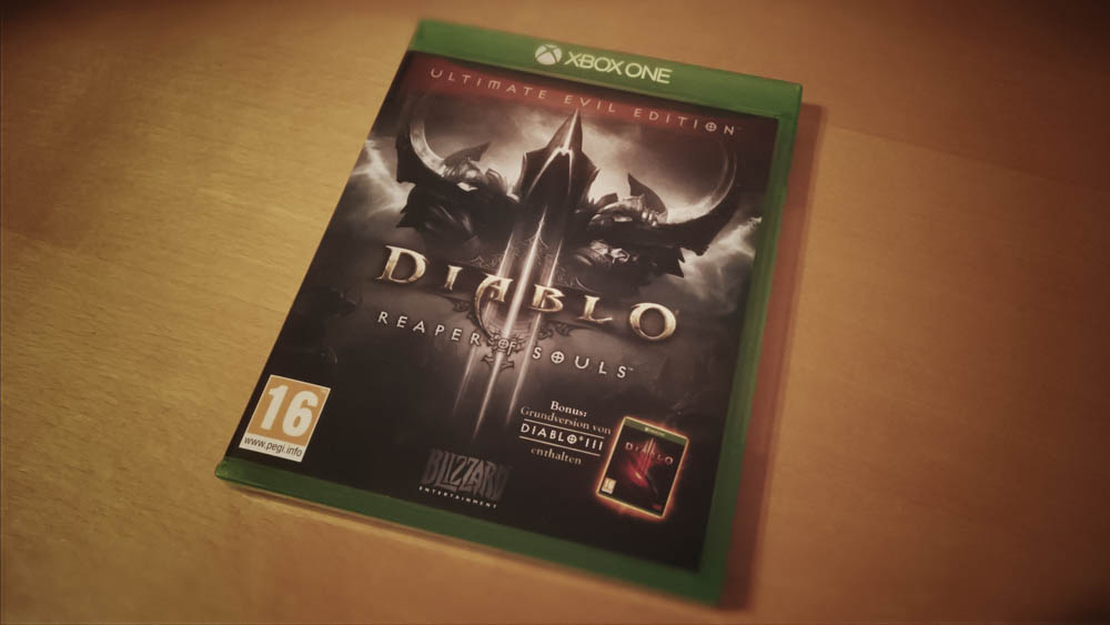 Diablo III - Ultimate Evil Edition - Xbox One Cover