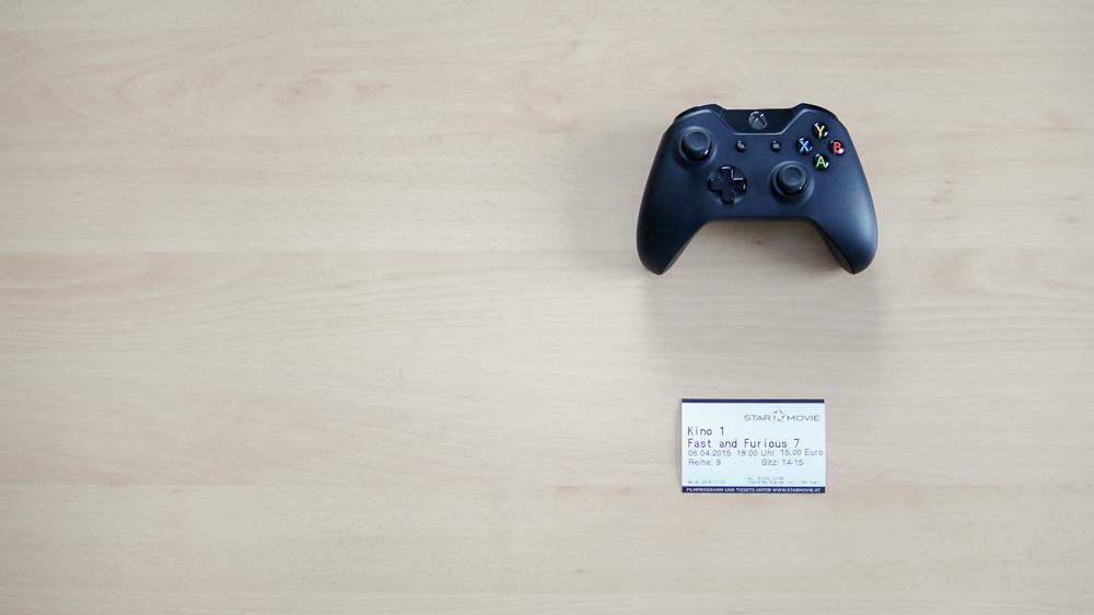 Forza Horizon 2 Presents Fast & Furious - X1 Controller & Kinoticket