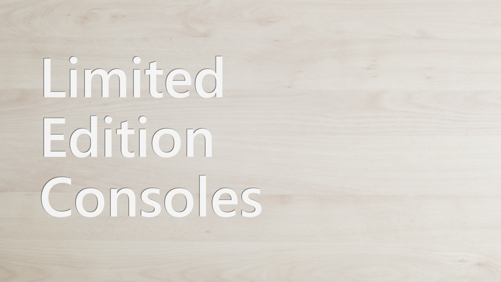 Limited Edition Consoles - Header