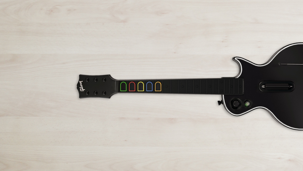 Guitar Hero Live vs Rock Band 4 - Gitarre