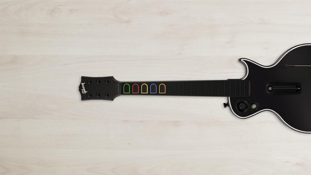 Guitar Hero Live vs Rock Band 4 - Gitarre