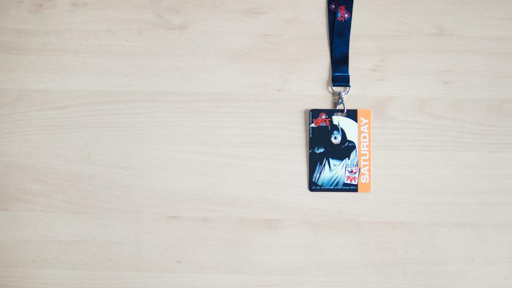 VIECC Vienna Comic Con 2015 - Saturday Badge