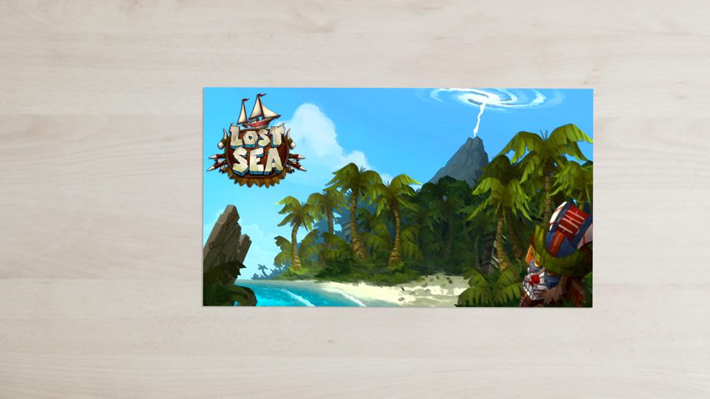 Lost Sea - Postcard