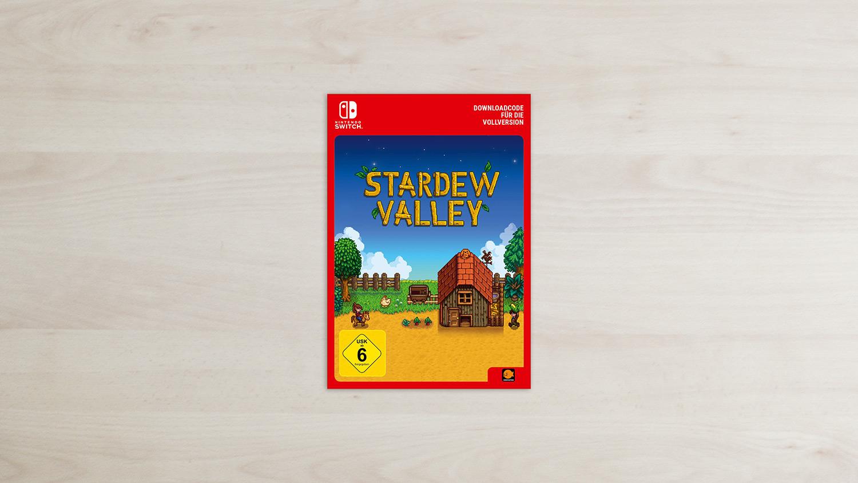 Stardew Valley - Nintendo Switch Code Card