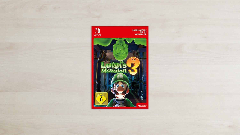 Luigi's Mansion 3 Nintendo Switch Download Card