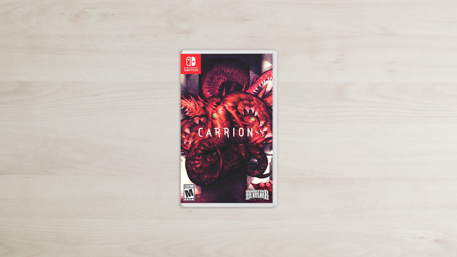 Carrion - Nintendo Switch Box